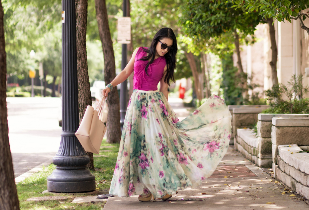 Maxi dresses and skirts for petites – Modern skirts blog for you